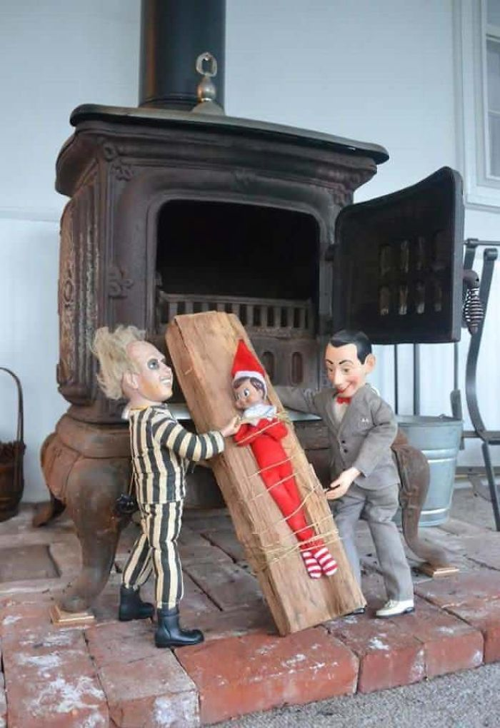Last Known Photo Of The Elf On The Shelf