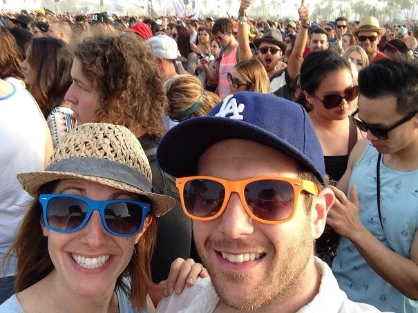 We Got Photobombed By Aaron Paul (Jesse Pinkman From Breaking Bad) At Coachella Yesterday