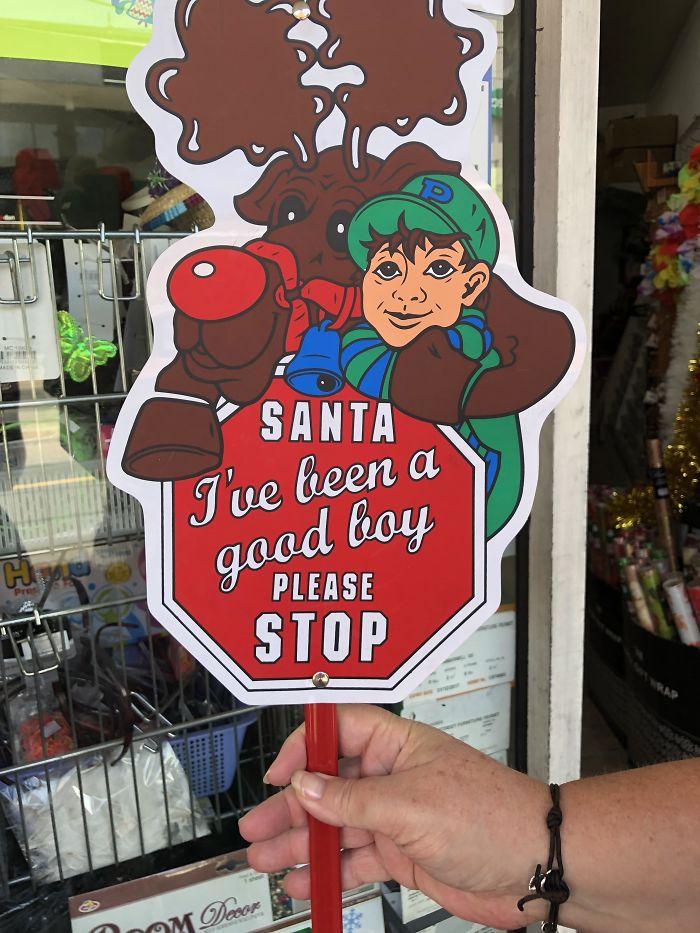 Please Stop, Santa