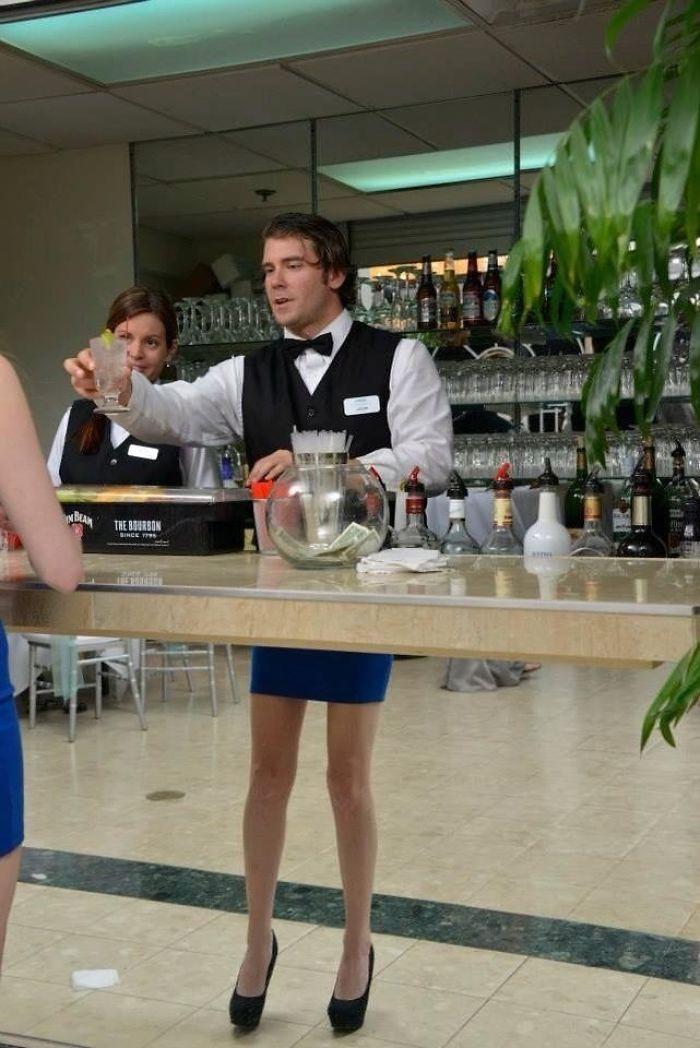 Hey Bartender, I Have That Same Skirt
