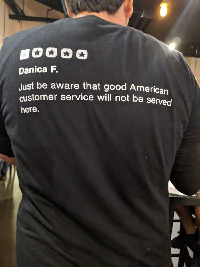 This Waiter Wears Restaurant's 1 Star Yelp Review