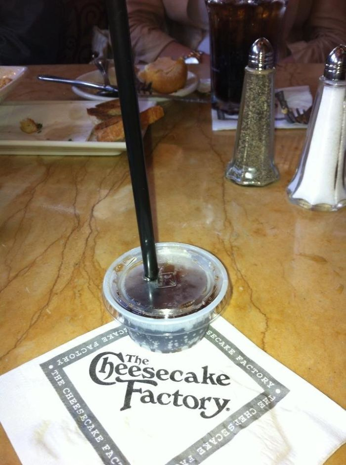 My Friend Asked Her Server For A Little More Diet Coke