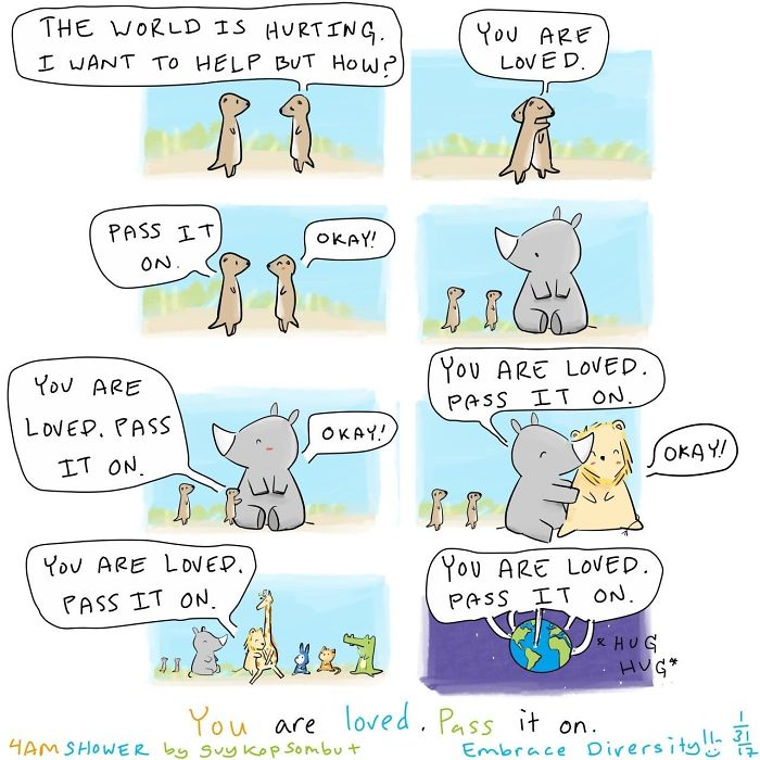 You Are Loved. Pass It On