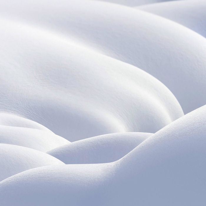 This Picture Of Untouched Snow