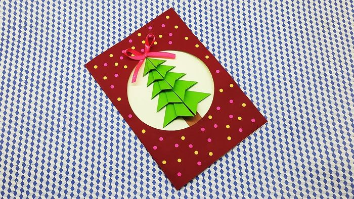 Diy Paper Greeting Card For Christmas   Holiday Cards Ideas