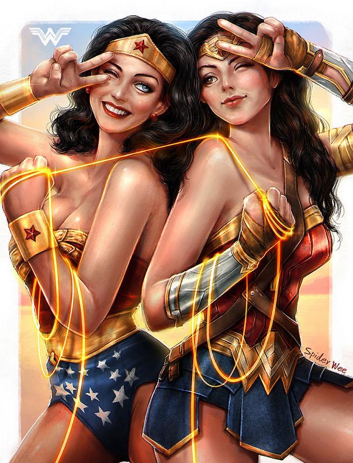 Wonder Woman 1975-2017