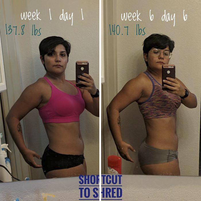 Me propuse perder 9 kilos, pero en vez de eso hice esto