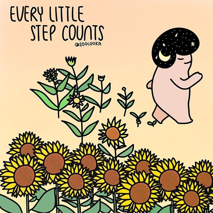 Every Little Step Counts