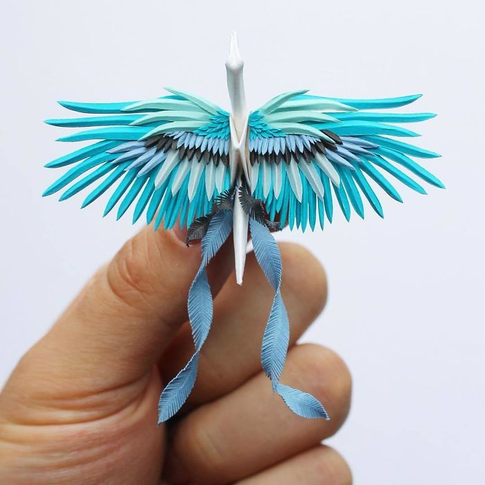 I Continued Creating Decorated Origami Cranes Even After Reaching My Goal Of 1000 Cranes In 1000 Days
