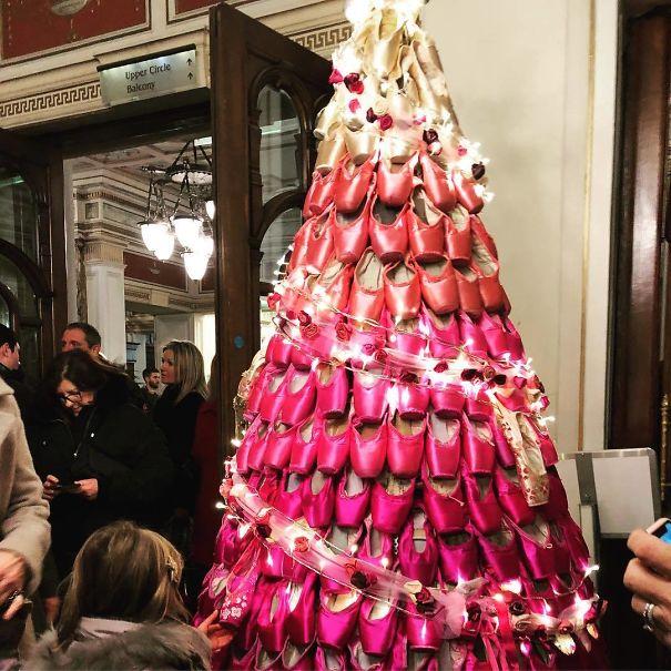 Christmas Tree Goals - Ballet Tree