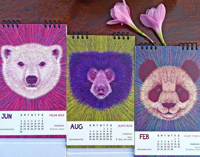 June, August, February