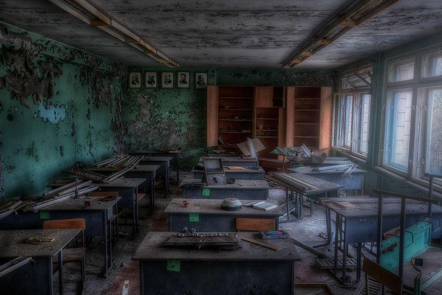 Заброшенные Чернобыль и Припять