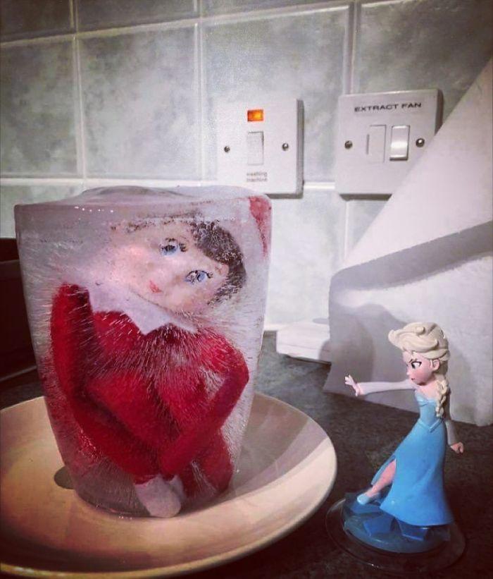 Elfo congelado