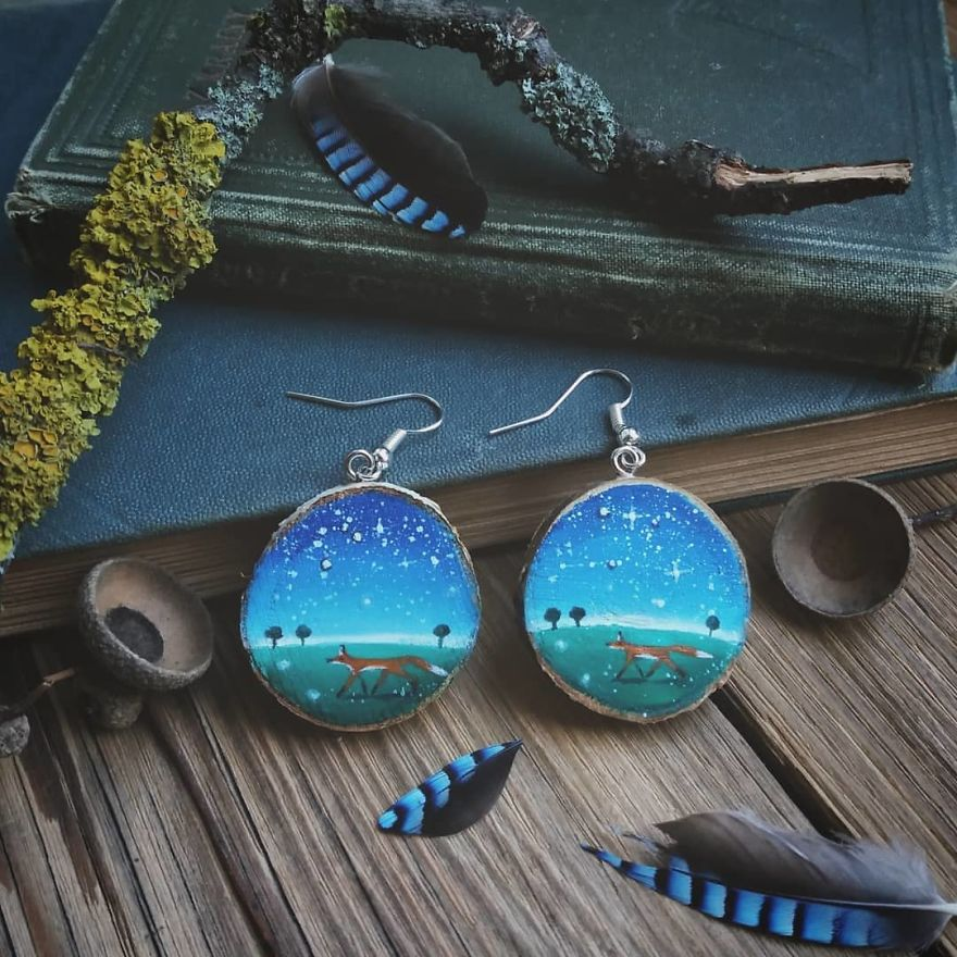 I Create Magical Natural Jewelry From Recycled Branches And Wood Pieces Found In The Woods.