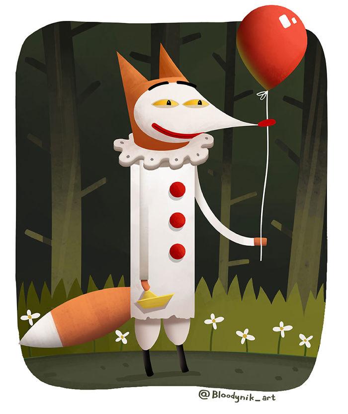 Penny The Dancing Fox