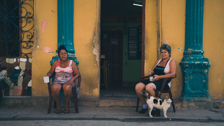 I Went To Film Cuban People In La Havana