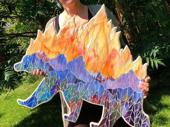 Colorado Artist Creates Vibrant Art In Response To Wildfires