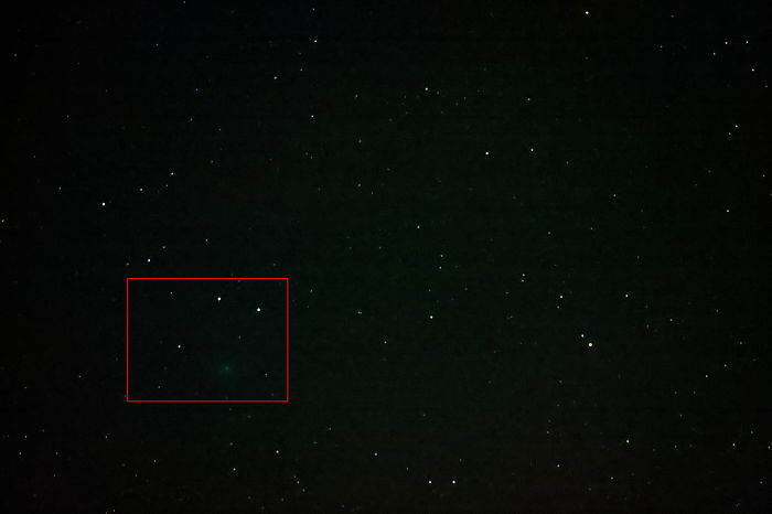 How I Captured 46p/Wirtanen Comet With A Great Luck