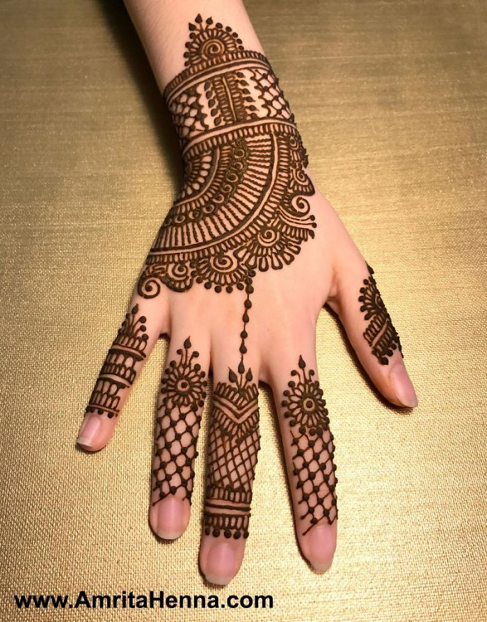 Mehndi Designs: Top 10 Collection Of Simple Mehndi Designs For 2019