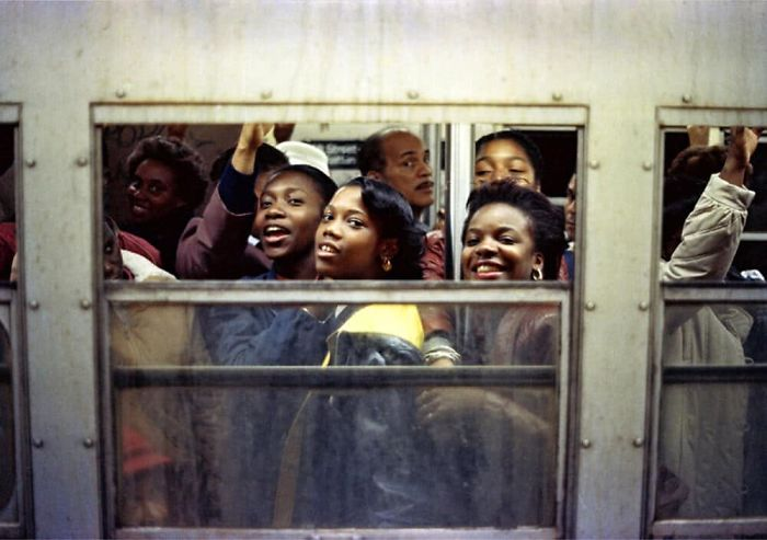 Rush Hour, NYC 1988