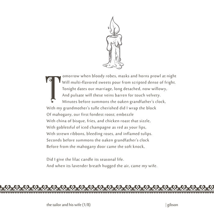I Wrote Sonnets And Decorated It With Vectors From The Internet