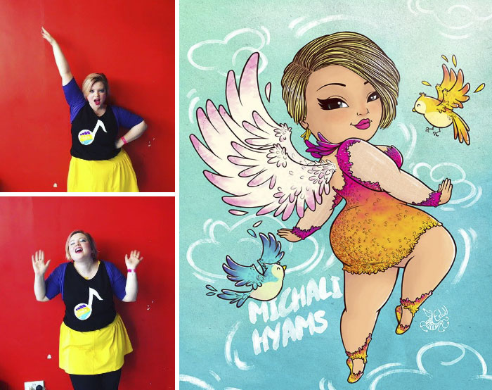 Tired Of Seeing Prejudice Against Plus-Sized Women This Artist Turned Them Into Art