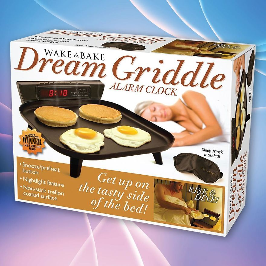 Use Your Alarm Clock As A Griddle