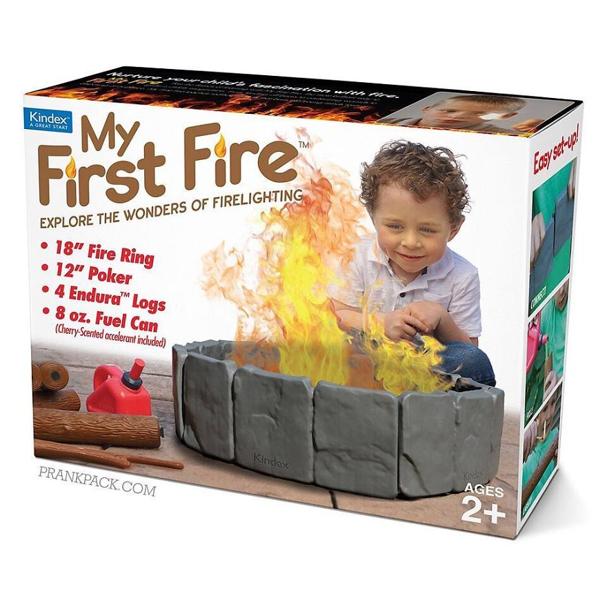 Let Your Toddler Explore The Wonders Of Fire-Lighting
