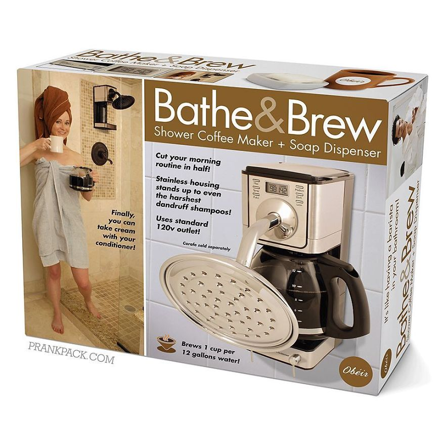 Prepare Your Coffee While In Shower