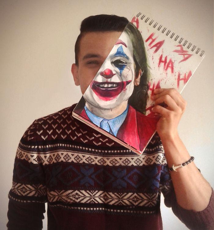 Joker Faceoff By Ahmed Matoui