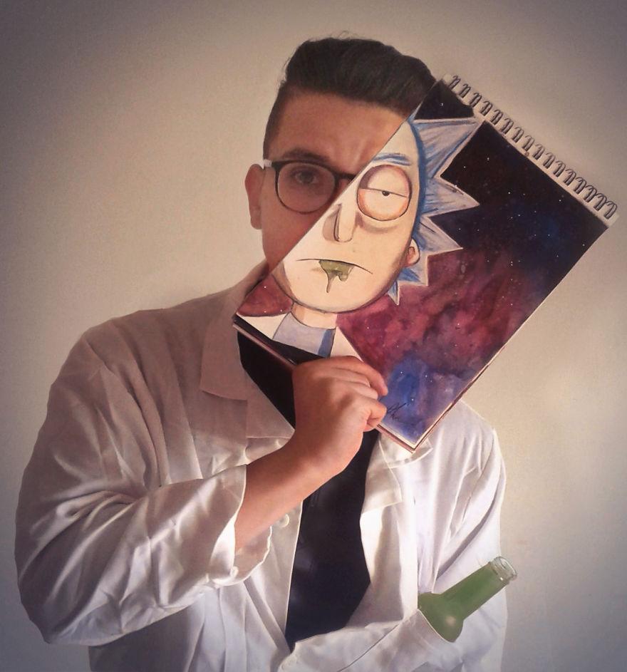 Rick Faceoff By Ahmed Matoui