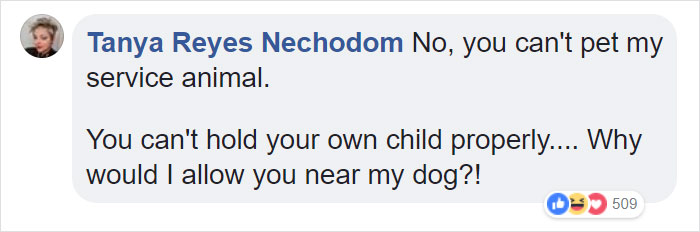 """'Entitled' Mom Asks If Her Child Can Pet Service Dogs, Can't Take """"No"""" For An Answer"""