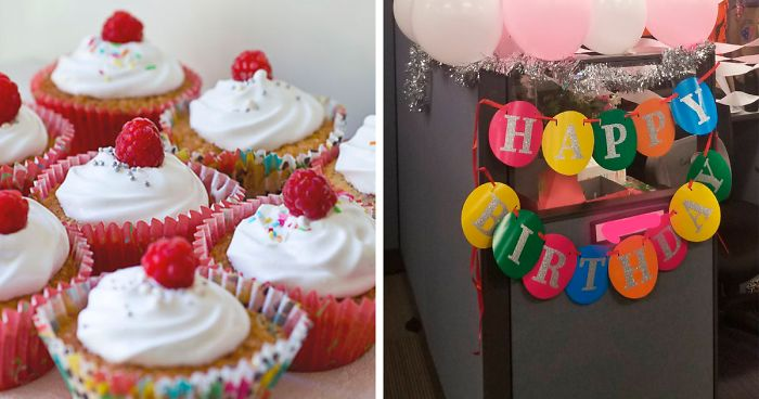 This Woman's Co-Workers Ignored Her Birthday So She Handled It With Cupcakes
