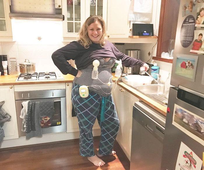 Rachel Mcadams Poses In Versace While Pumping Her Milk Bored Panda