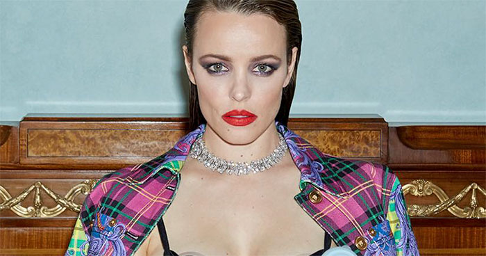 Rachel McAdams Poses In Versace While Pumping Her Milk