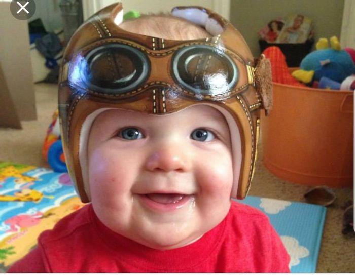 Helmet Baby