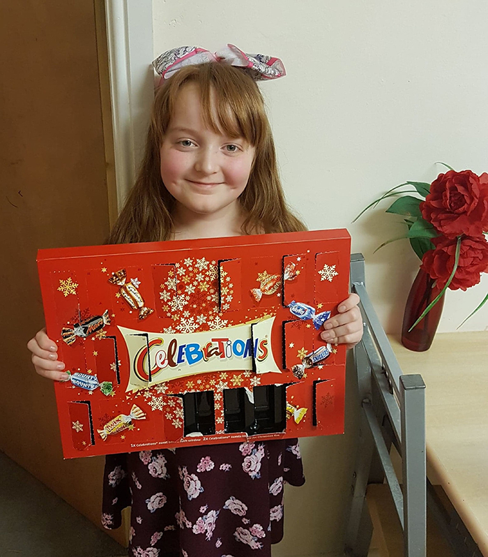 Mom's Hilarious Fail Goes Viral After Her 9-Year-Old Ate From Advent Calendar For Cats For 11 Days