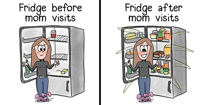 I'm A Hungarian Girl In Her 30s Who Creates Illustrations About Life And Everyday Struggles (34 Pics)