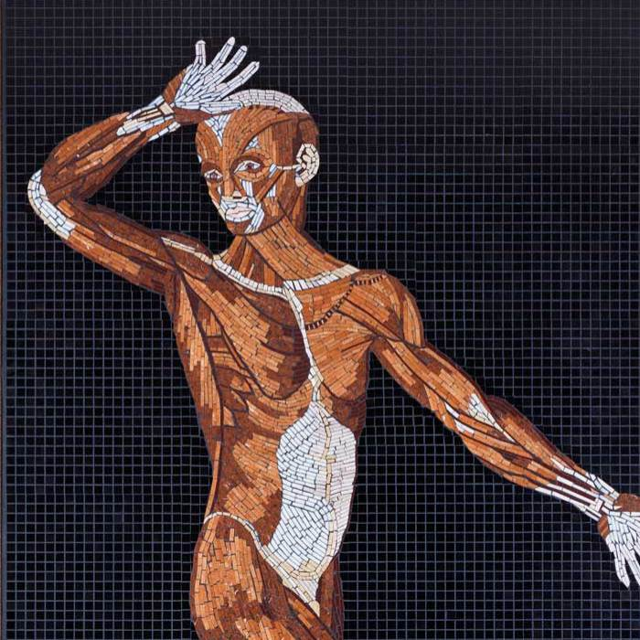 I Used Marble, Stone And Precious Gems To Create Realistic Mosaics Of 16th Century Anatomical Drawings