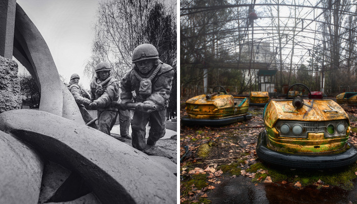 I Photographed Abandoned Cities Of Chernobyl & Pripyat