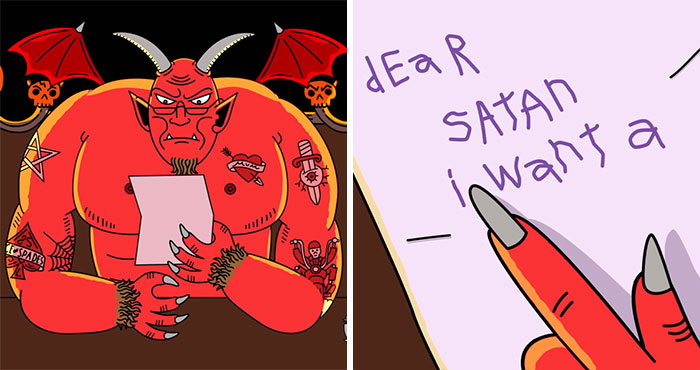 Hilarious Short About A Girl Who Accidentally Wrote A Letter To Satan Instead Of Santa