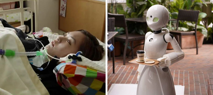 Japanese Cafe Found A Way To Employ Paralysed People As Waiters