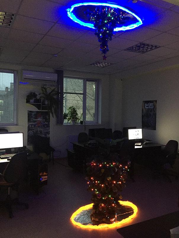 My Office Christmas Tree Portal Version