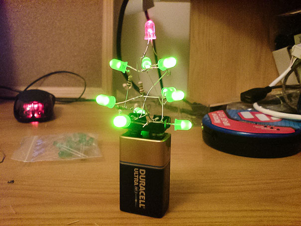 I So I Finally Buckled Down And Got A Christmas Tree This Year
