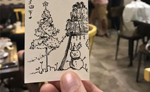 I Spent 3 Weeks Drawing Christmas Trees For The Upcoming Christmas