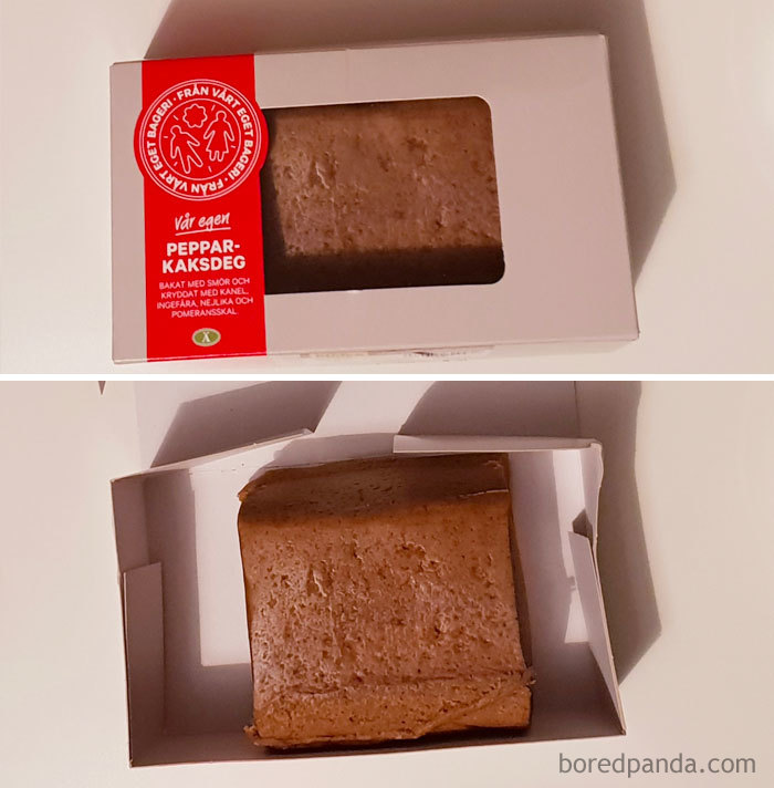 I Found My First Asshole Design Today! This Is Gingerbread Dough Bought In Swedish Supermarket City Gross