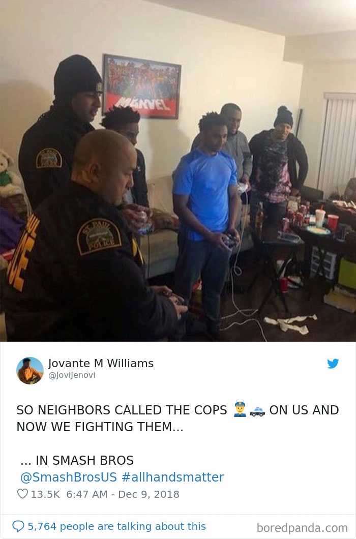 Neighbours Called The Cops