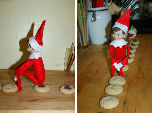 Elf Left Some Delicious Treats