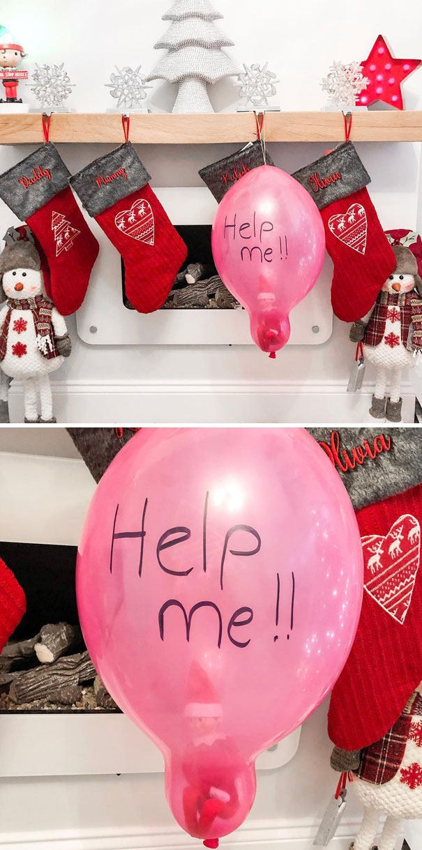 Help The Elf Is Trapped In A Balloon