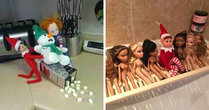 50 Elf On The Shelf Ideas That Ll Make You Laugh Or At